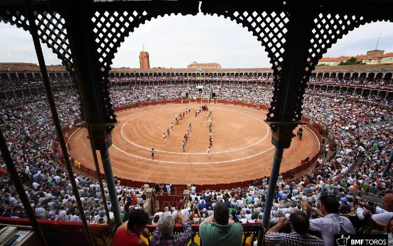 La Glorieta plaza de toros de Salamanca por dentro