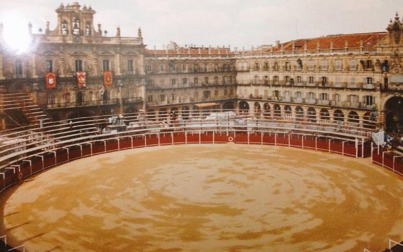 La Glorieta plaza de toros de Salamanca dibujo