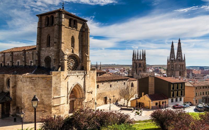 San Esteban en Burgos