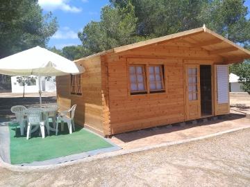 dormir Sant Josep Talaia camping cala bassa