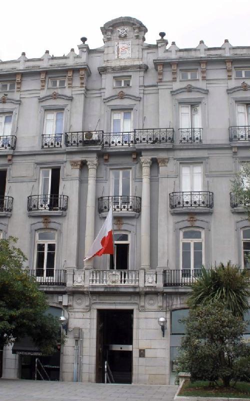 Palacio Pombo en Santander