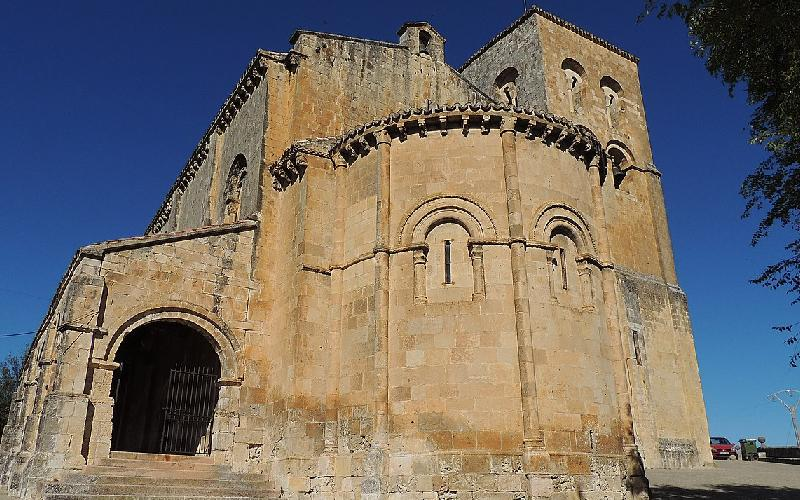 Iglesia del Salvador en Sepúlveda románico A-1