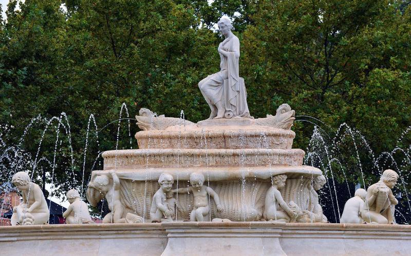 Fuente de Hispalis en Sevilla