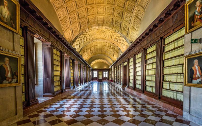 Interior del Archivo de Indias