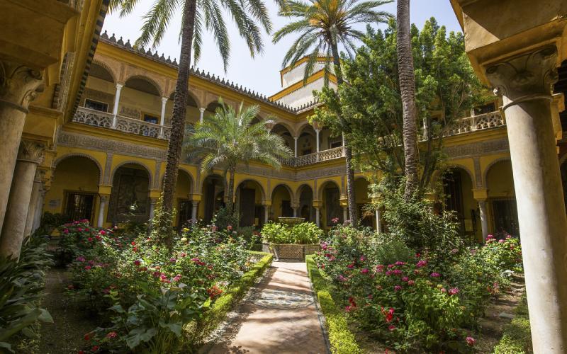 Palacio de Dueñas en Sevilla