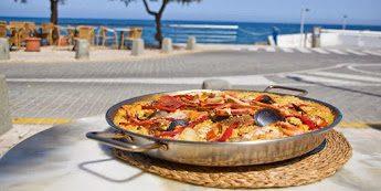 Comer paella Cala Millor Cala Bona restaurante tasca port