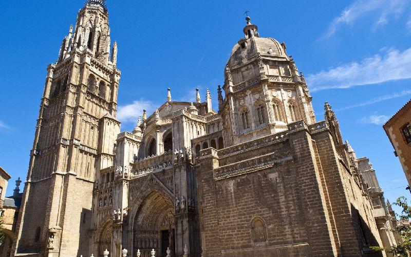 Catedral de Toledo, una de las catedrales más espectaculares de España