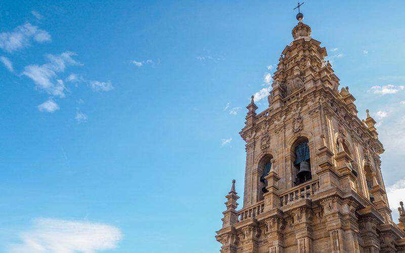 Torre Berenguela, protagonista de las campanadas de Santiago de Compostela