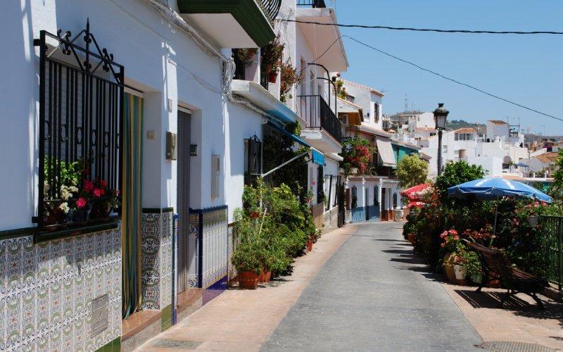 Coloridas calles de Torrox
