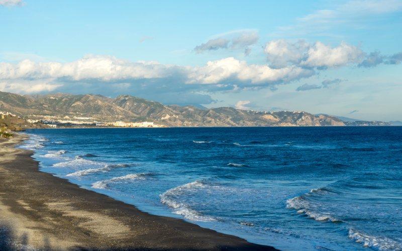 Playa en Torrox