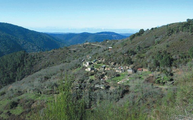 Vista aérea Tronceda | Web Casa Rural de A Palleira