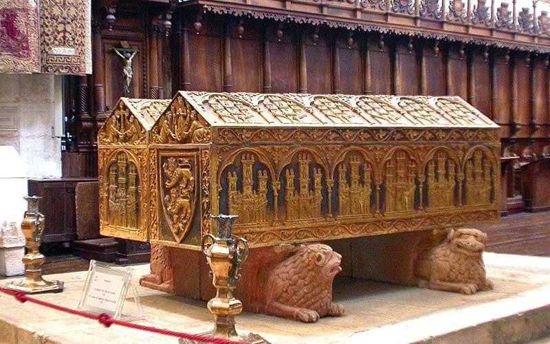 Tumba de Leonor y Alfonso VIII en Las Huelgas Reales