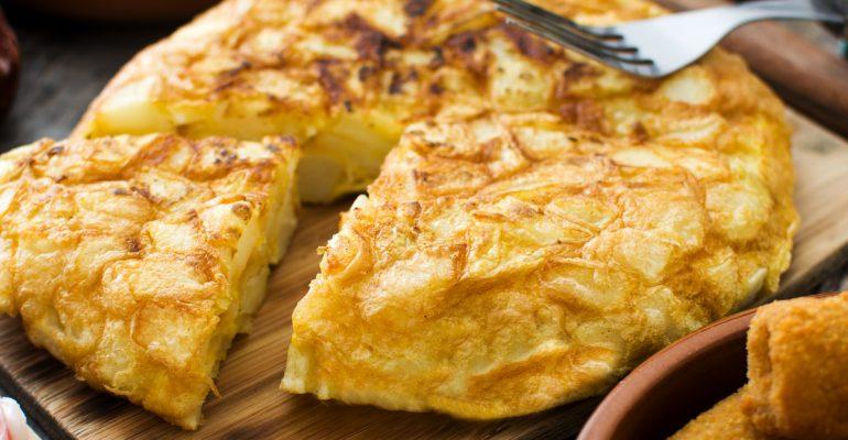 Receta de tortilla de patatas