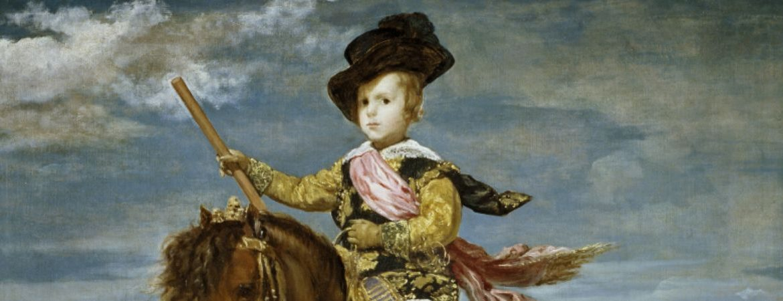 Cuadro 'El príncipe Baltasar Carlos, a caballo' de Velázquez