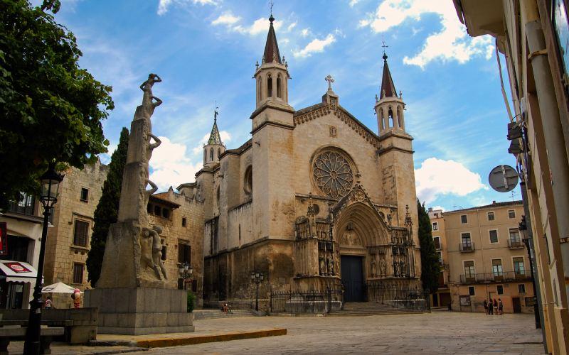 Iglesia de Santa María en Vilafranca del Penedès