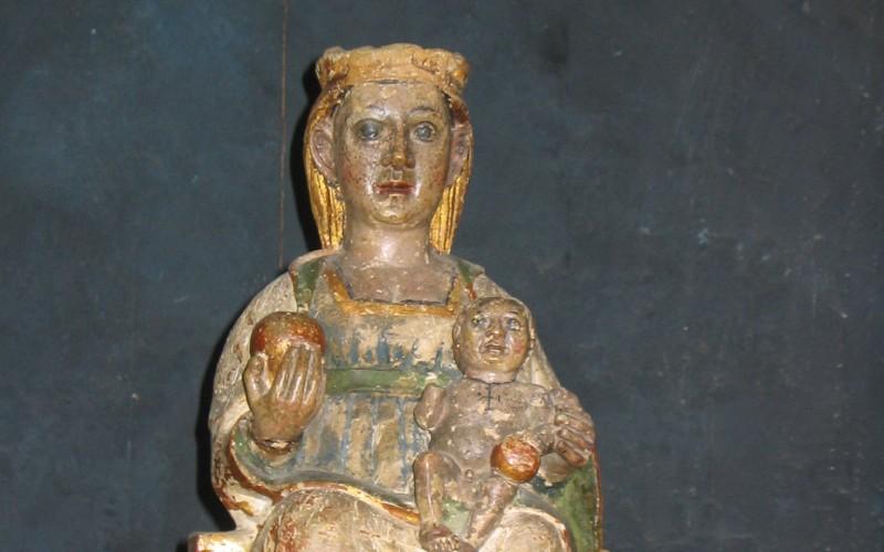 Esta es la virgen de Arantzazu original