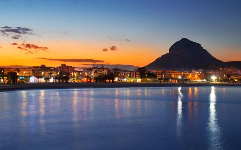 Xábia-Jávea, Alicante, El Arenal