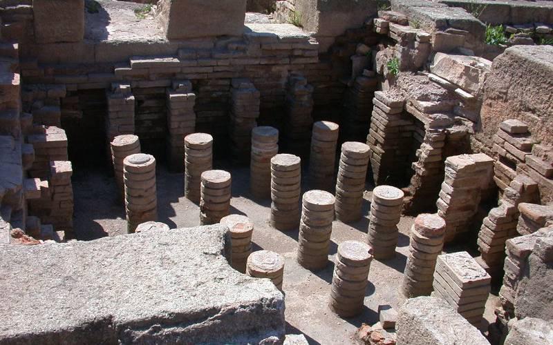 Yacimiento romano de la Finca del Secretario en Fuengirola