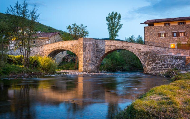 Puente de la Rabia de Zubiri