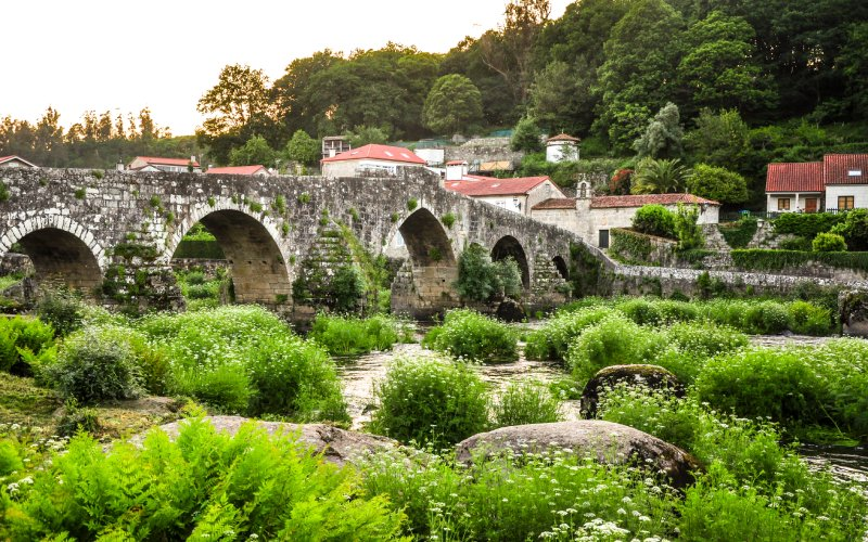 A Ponte Maceira, una aldea preciosa