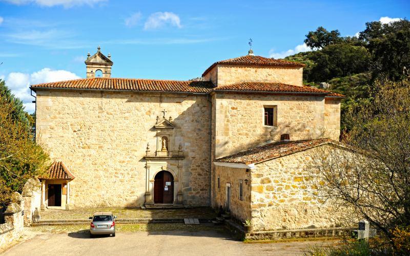Fachada trasera del actual Convento del Palancar