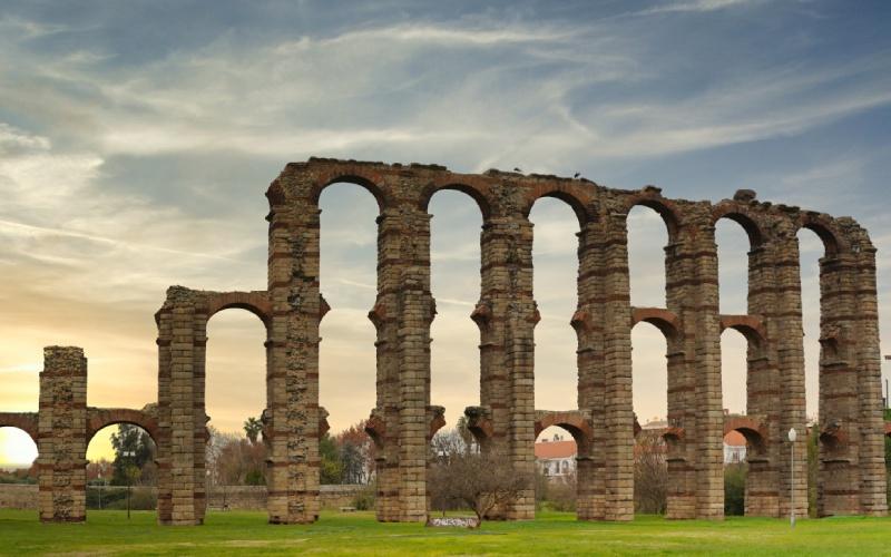 Acueducto romano de Mérida