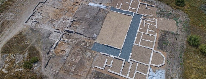 Villa romana de Santa Lucía en Aguilafuente