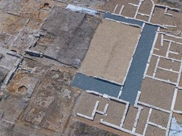 Hallan un nuevo segmento de la imponente villa romana de Santa Lucía de Aguilafuente