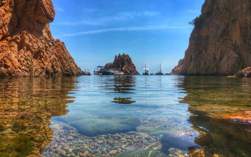 Aigua Xelida a ras de mar