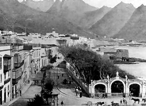 Imagen antigua de la Alameda del Duque de Elena