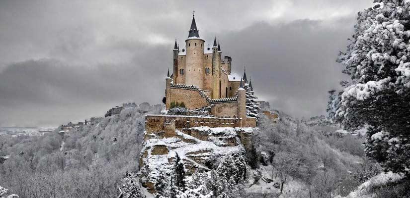 castillos espanoles cuento infantil Alcazar Segovia