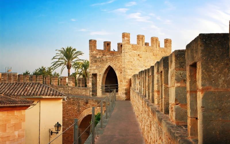Los templarios estuvieron presentes en Alcudia, Mallorca