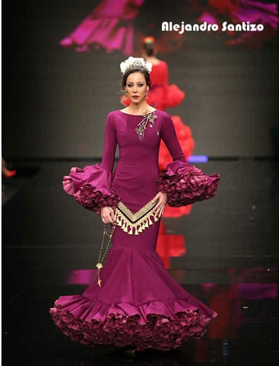 moda flamenca SIMOF Alejandro Santizo
