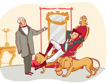 La réprimande au roi Alphonse XII