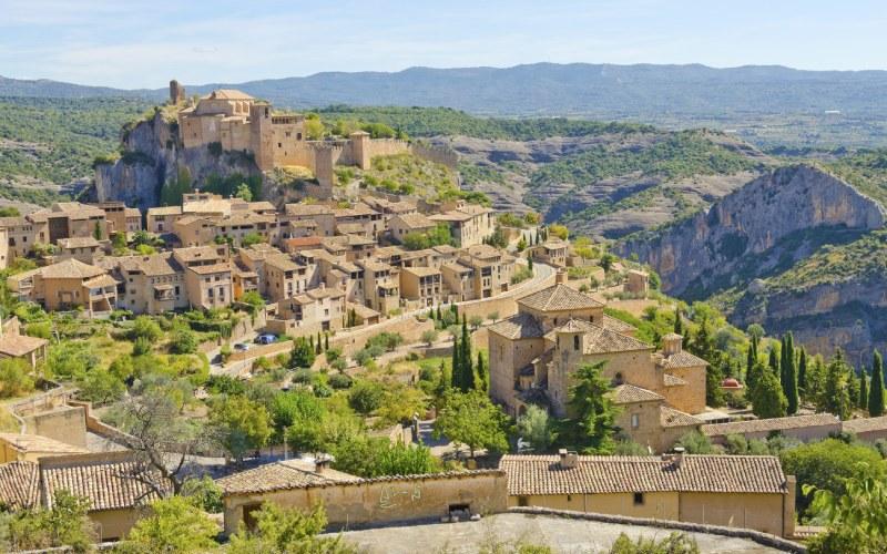 Alquézar es considerado uno de los pueblos más bellos de Huesca