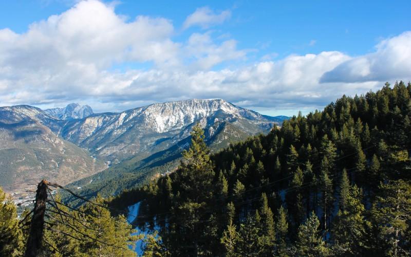 Toloríu se encuentra en el Alt Urgell, donde pueden verse paisajes tan espectaculares como este