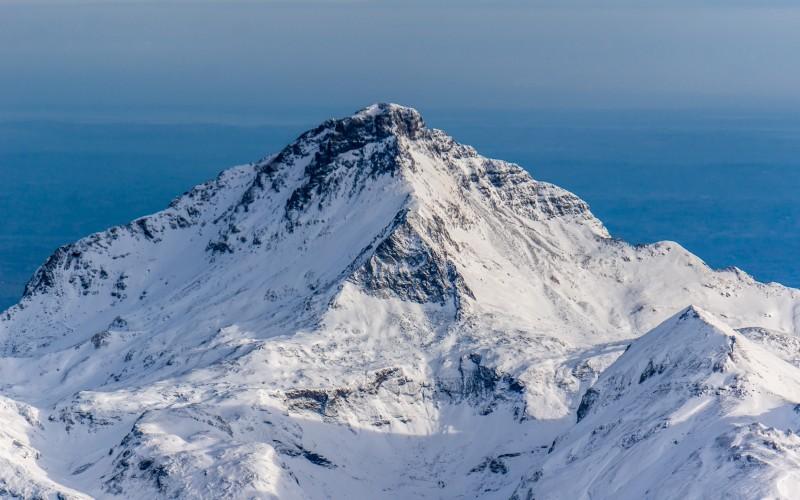 El Aneto es el pico más alto de los Pirineos