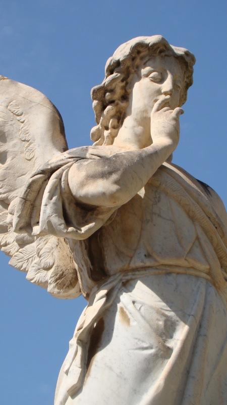 Ángel del Silencio museo del silencio valencia cementerio