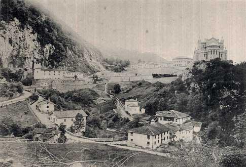 Covadonga a principios del siglo XX