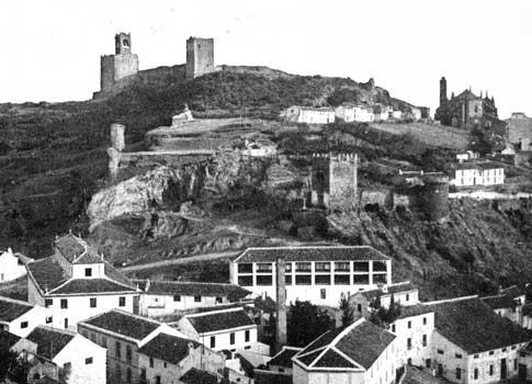Imagen antigua de Antequera