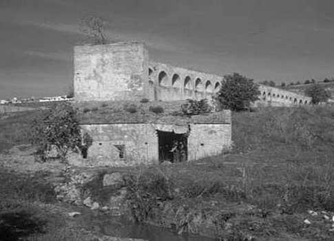 foto antigua Molino de los Arcos en Mairena del Alcor