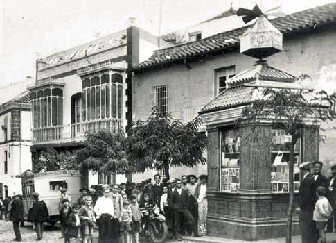 foto antigua La Plaza del Charco de Montoro