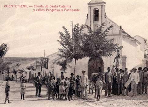 foto antigua Ermita de Santa Catalina de Puente Genil