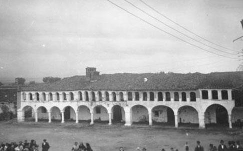 Casas de la Plaza Mayor de Garrovillas de Alconétar