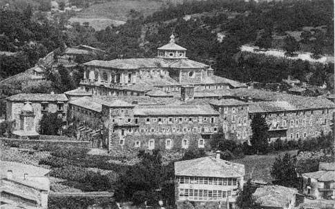 foto antigua monasterio samos