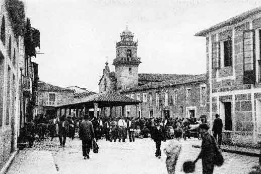 plaza merced verin foto antigua