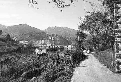 Antigua vista de Zugarramundi