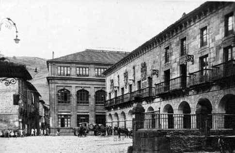 Plaza de San Martín en Bergara