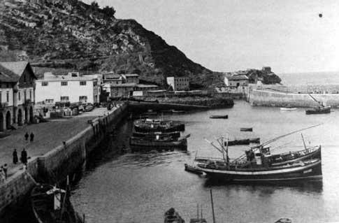 Antiguo puerto de Getaria