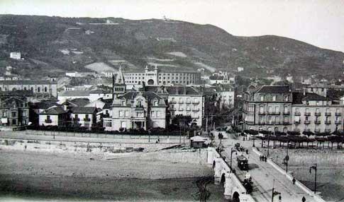 fotografia antigua san sebastian